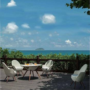 Latest Outdoor Leisure Furniture Design Garden Rattan Bar Ball Chair