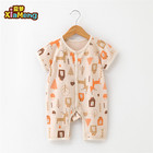 high quality organic cotton baby clothes gots certified rompers for 0-2 years kids