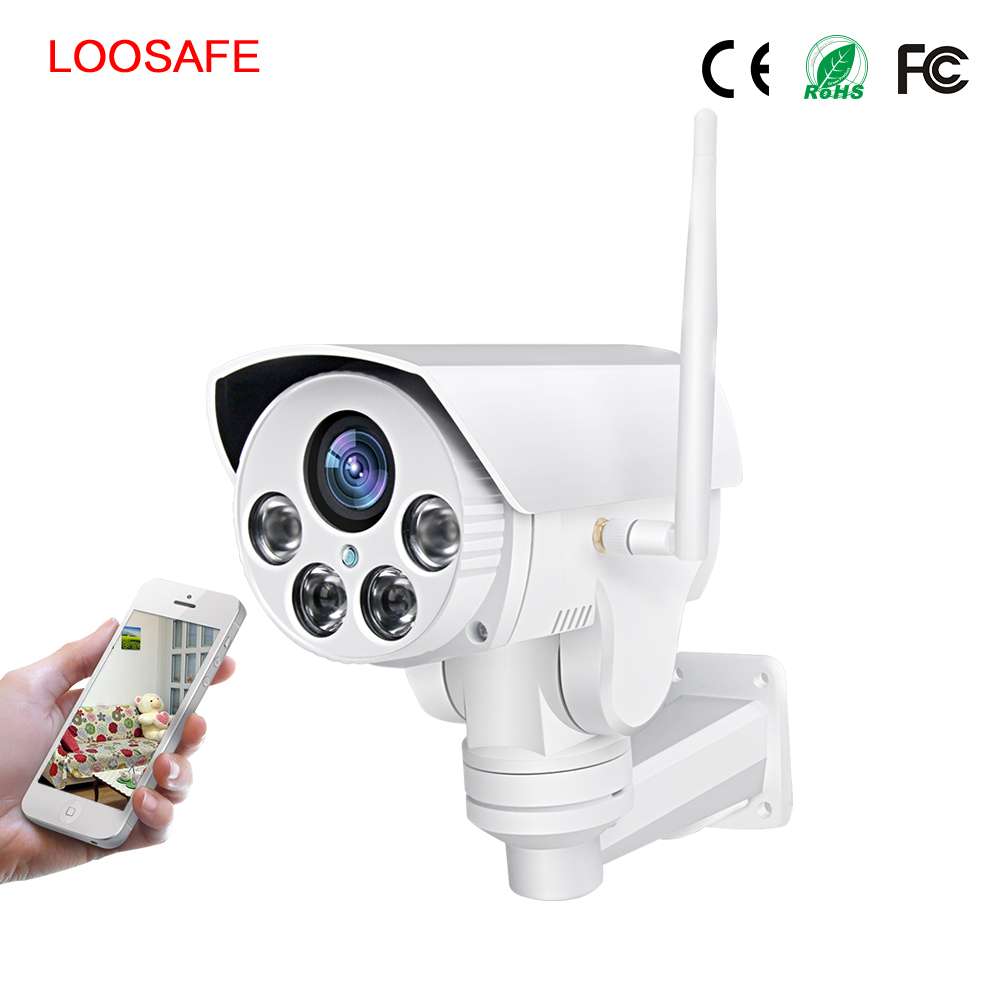 Wholesale 2.8mm-12mm Zoom Wireless 1080P Security 4X Optical Zoom Outdoor PTZ Wifi IP Camera