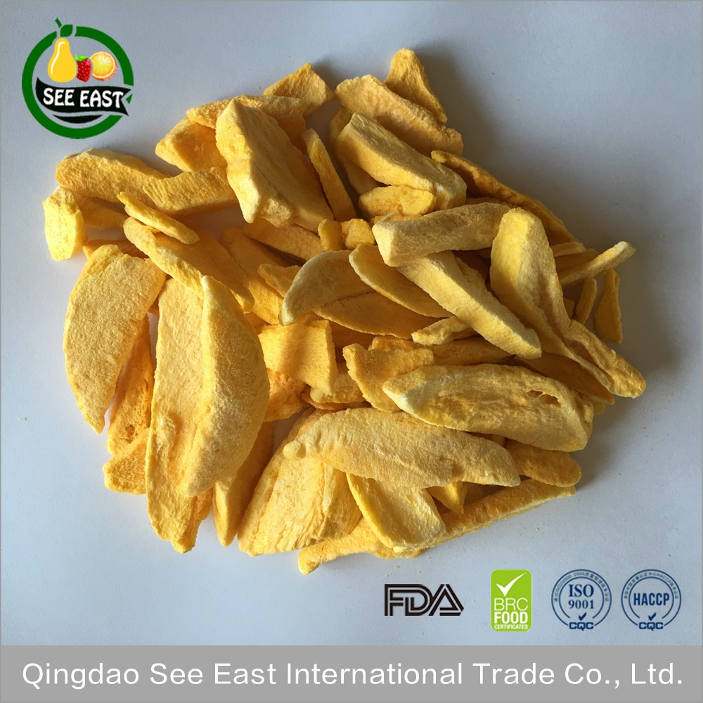 OEM welcome hot sale new products 2016 freeze dried food mango chips