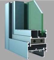 Guangzhou custom extruded aluminum window frame profile