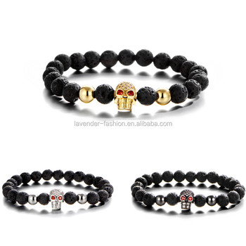 gods product black lava empire eye of beads image products volcano volcanic the tiger bracelet