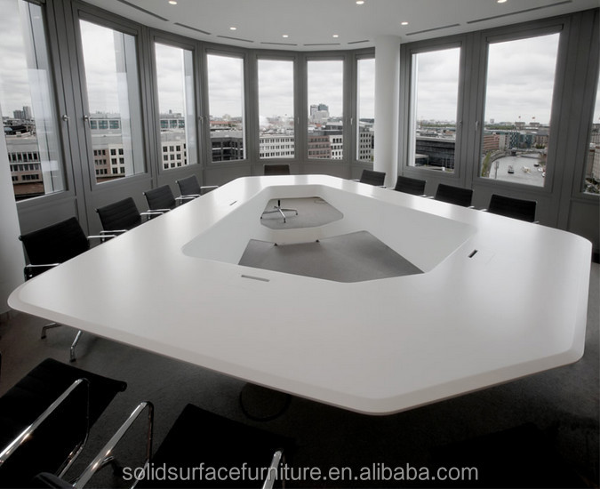 Western Design High End Luxury Modern Conference Table