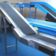 User-friendly lineshaft roller conveyor brake