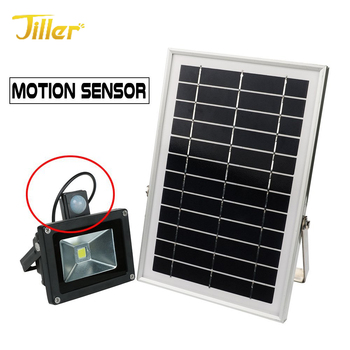 10W/20W/30W/50W/100W High Quality PIR Motion Sensor Rechargeable Solar Led Flood Light