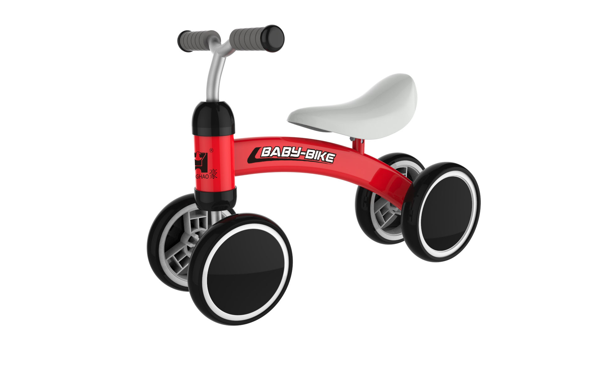 Modern design,Little kids favorite baby walker balance bike with 4 wheels