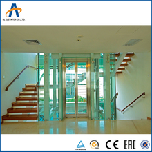 SL residential indoor glass home elevator kit with best price