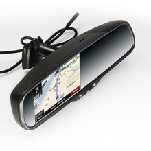 Auto GPS spiegel WinCE navigatie bluetooth <span class=keywords><strong>handsfree</strong></span> auto backup camera display originele montage vervanging beugel