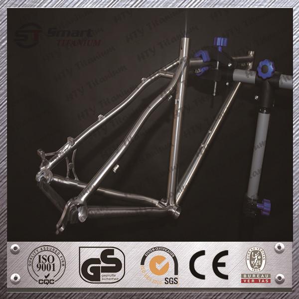 HTY titanio BMX Marco de titanio marco de la bicicleta de Triatlón ...