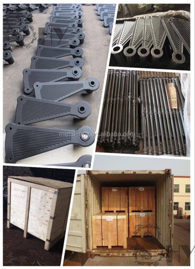 الحديثة تصميم في الهواء الطلق الحديد الدرج/يلقي الحديد سلم لولبي