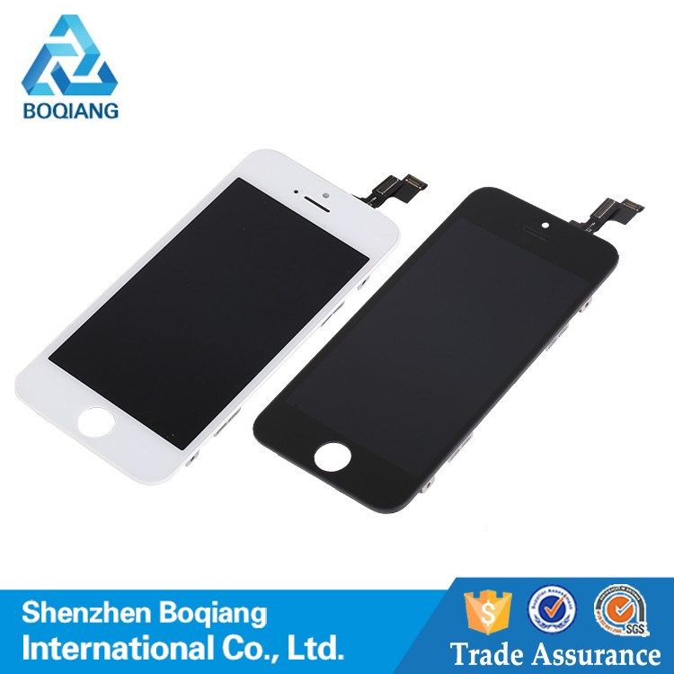Smart Mobile phone accessory touch screen for iphone 5s,for iphone 5s lcd assembly digitizer ,for iphone 5s screen lcd assembly