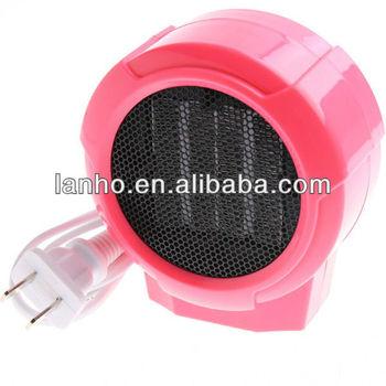 mini radiateur c ramique personnels portables lectrique ventilateur 220 v 100 w forc rose. Black Bedroom Furniture Sets. Home Design Ideas