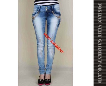Supper Skinny Denim Pants For Fashion Girls Jeans Denim Jeans ...