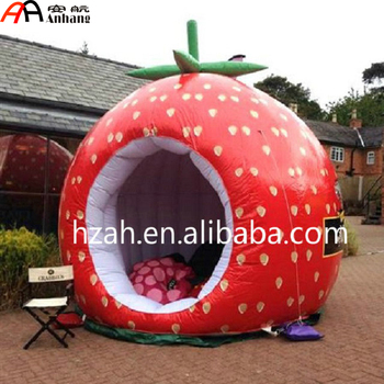 wholesale dealer 120f0 55356 Inflatable Strawberry Dome Kid Play Tent - Buy Large Kids Play  Tents,Inflatable Strawberry Dome Tent,Inflatable Tent For Kids Product on  Alibaba.com