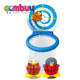 New arrival baby play bathing basketball board cartoon set penguin bath toy