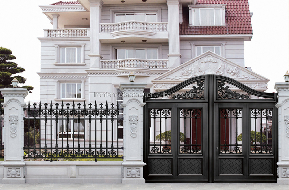 Iron Pipe Gate Designs For Homes Wrought Iron Main Gate For Homes