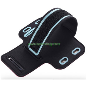 Neoprene Arm band cell phone holder Waterproof sport armband case for mobile phone