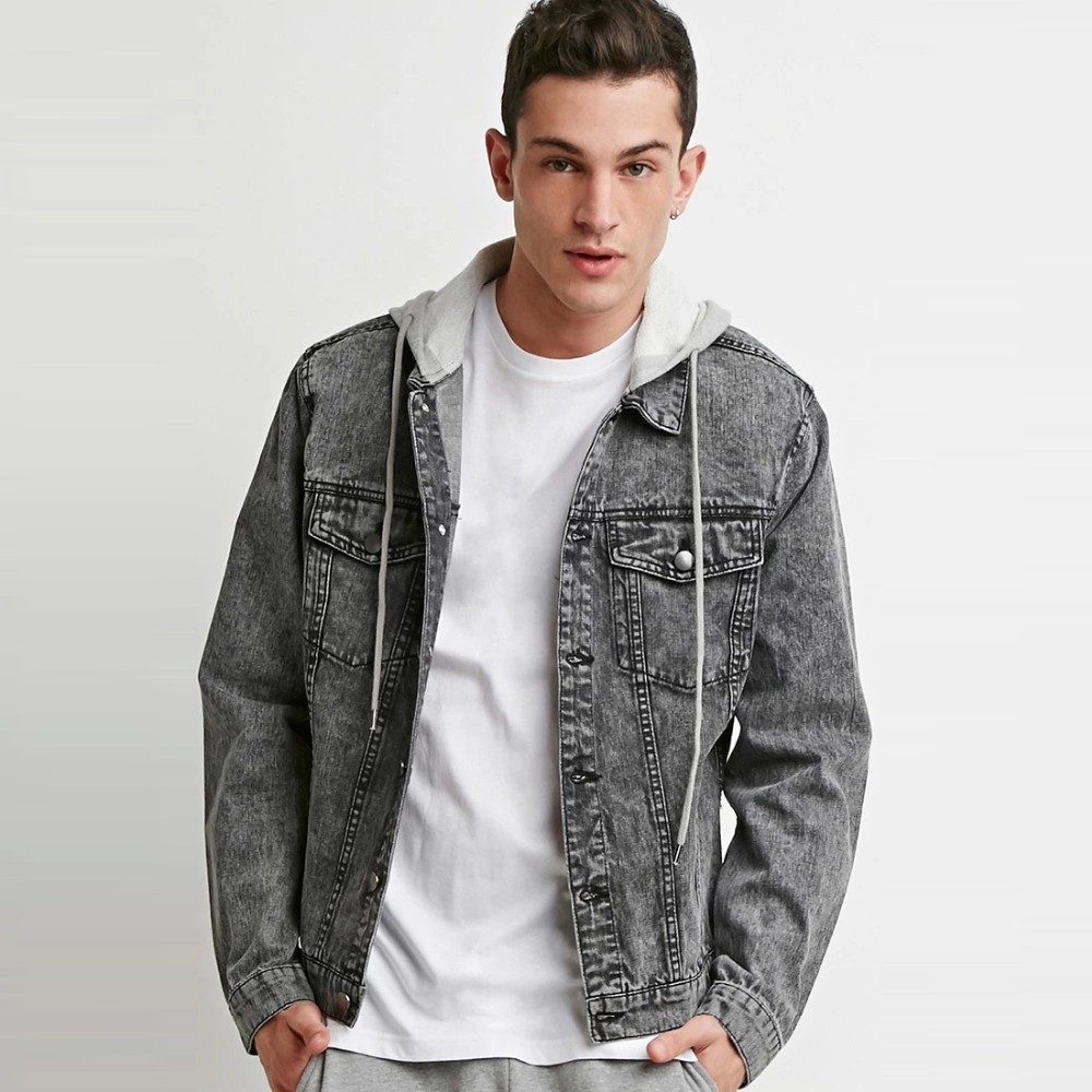 Best Price Men Jean Denim Jacket Hoodies Wholesale Suppliers Buy