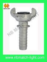 Malleable Iron / Steel Mortar Hose Couplings And Plugs