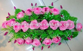 Artificial Flowers For Funeral Wreaths Cheap