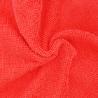 streak free red microfiber cloth in bulk