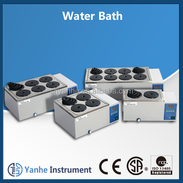 HWS Series 2/8/12/16 holes digital Thermostatic laboratory water bath