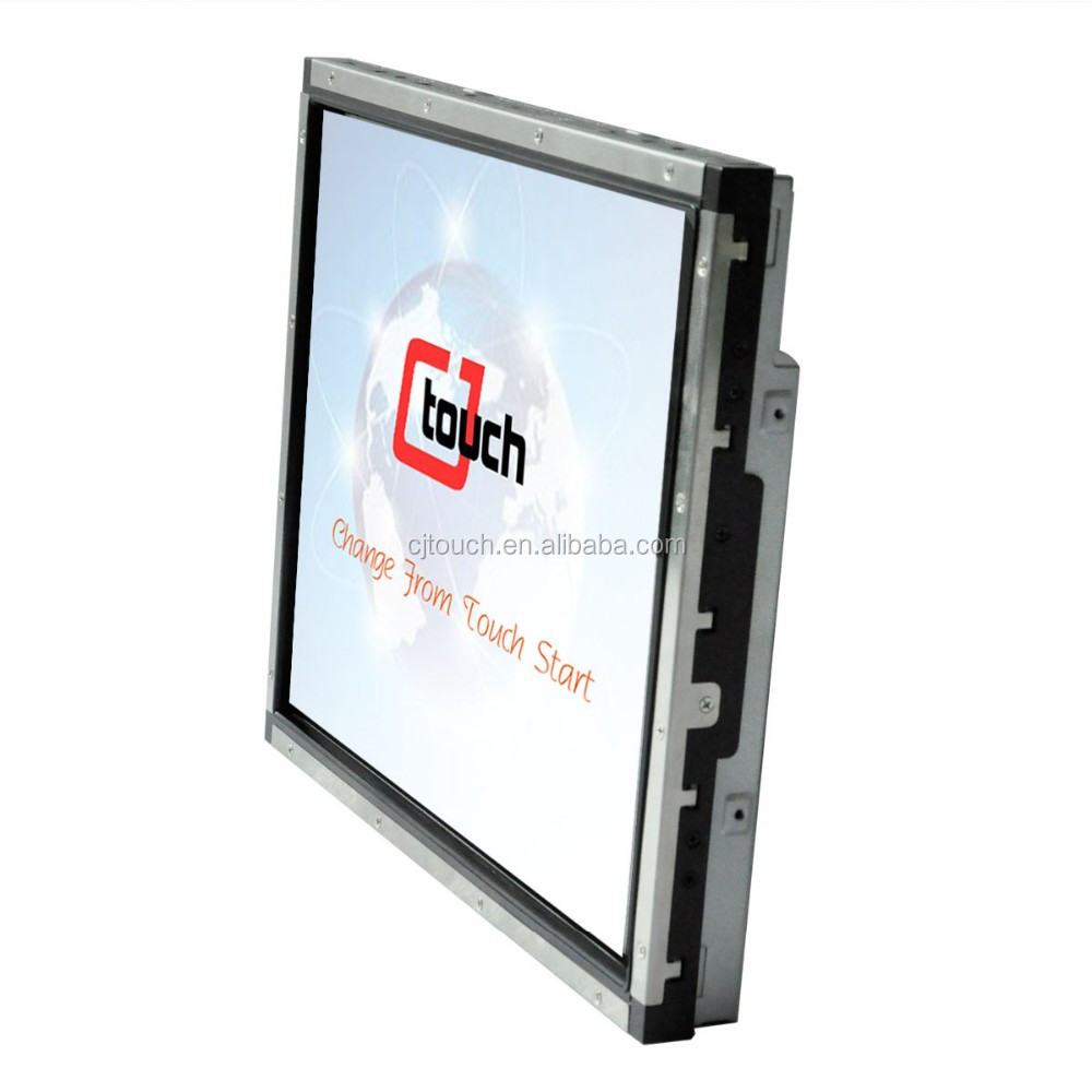 19 inch monitor open frame with SAW touch screen for POS,ATM,Kiosk,Vending Machine