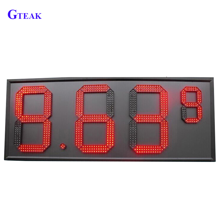 8.889 4 Digits 12 Inch 7 Segment <strong>Led</strong> <strong>Display</strong>,Wholesale <strong>Led</strong> Gas Price Sign /<strong>led</strong> Oil Price