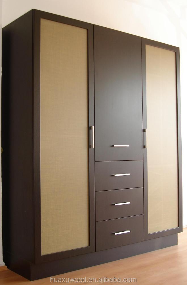 Muebles de closet en madera 20170808044929 for Disenos de roperos para dormitorios pequenos