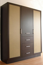 HXSL wood closet organizers design in bedroom furniture