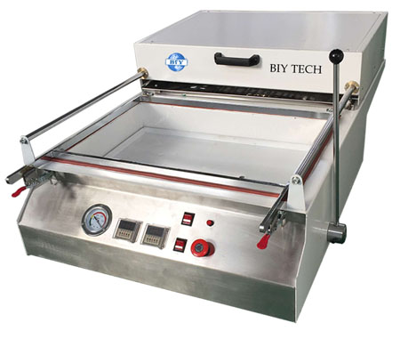 DIY Small Vacuum Thermoforming Machine