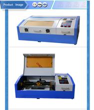 Hot sale portable k40 co2 40w mini nylon rubber stamp making machine price