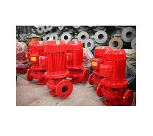 High quality manufacturer XBD series multistage vertical electric motor driven diesel engine fire fighting pump for sale used