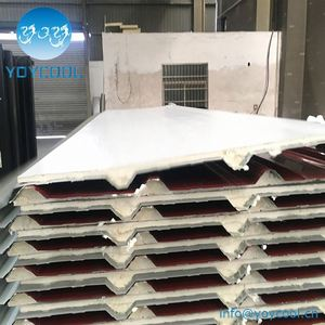 govt 20mm PU roof sandwich board polyurethane board hs code cold room panels in qatar