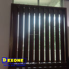 Aluminum vertical awning louver and blinds as window and door shutter