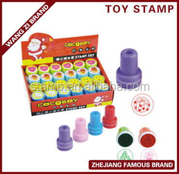 hot sale product round craft toy stamper for children