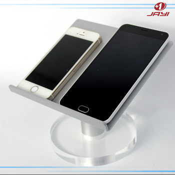 Custom Portable Aluminum Clear Lucite Acrylic Ipad Cell Phone Extraordinary Cell Phone Display Stands