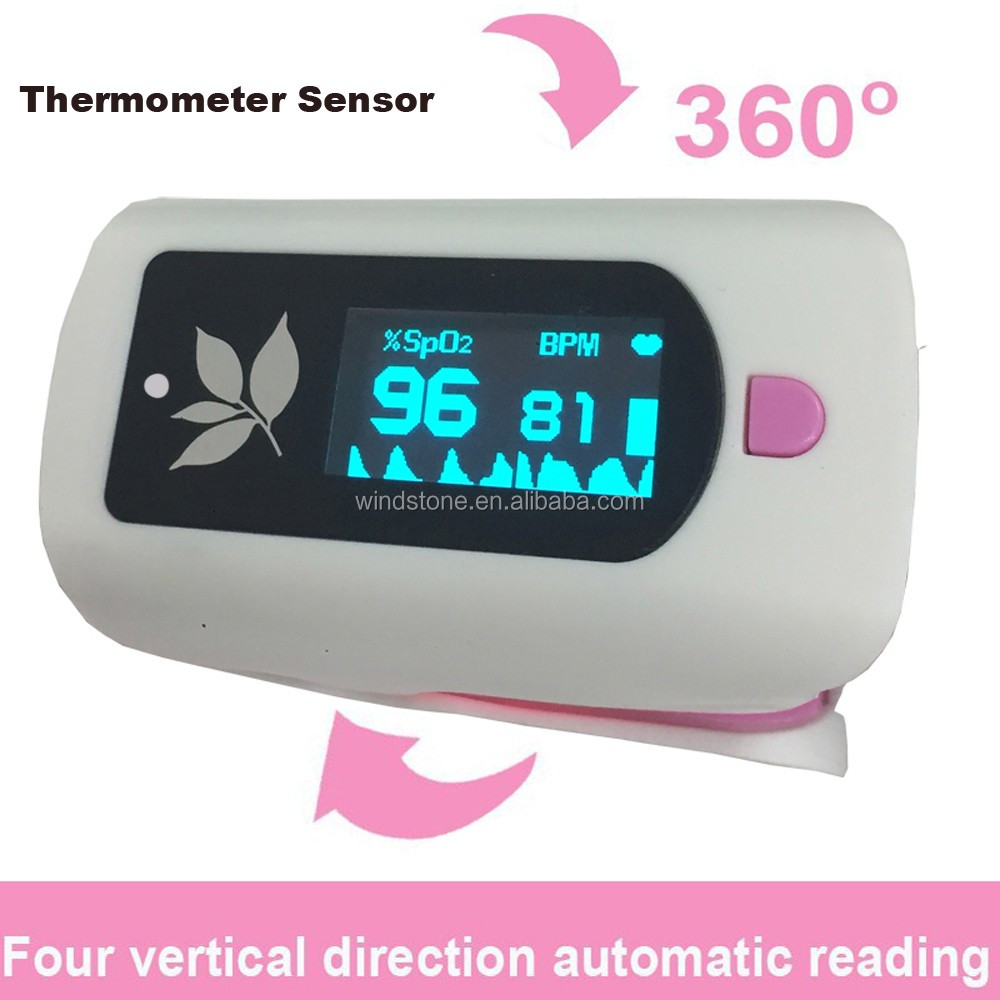 Infrared Thermometer Baby Use Non Contact Fingertip Oximeter Pulse
