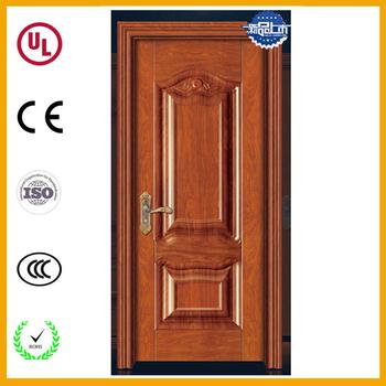 Popular Pooja Room Solid Teak Wood Door Catalog Modern Designs