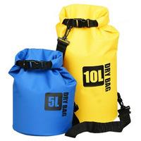Wholesale custom logo 5L 10L 30l PVC tarpaulin ocean pack dry bag