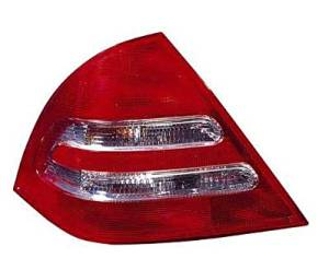 DRIVER SIDE TAIL LIGHT Mercedes-Benz C230, Mercedes-Benz C240, Mercedes-Benz C32 AMG, Mercedes-Benz C320 ASSEMBLY;; SEDAN