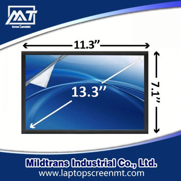 Laptop Screen 13.3inch LT133EE09100 mini laptop rotating touch screen