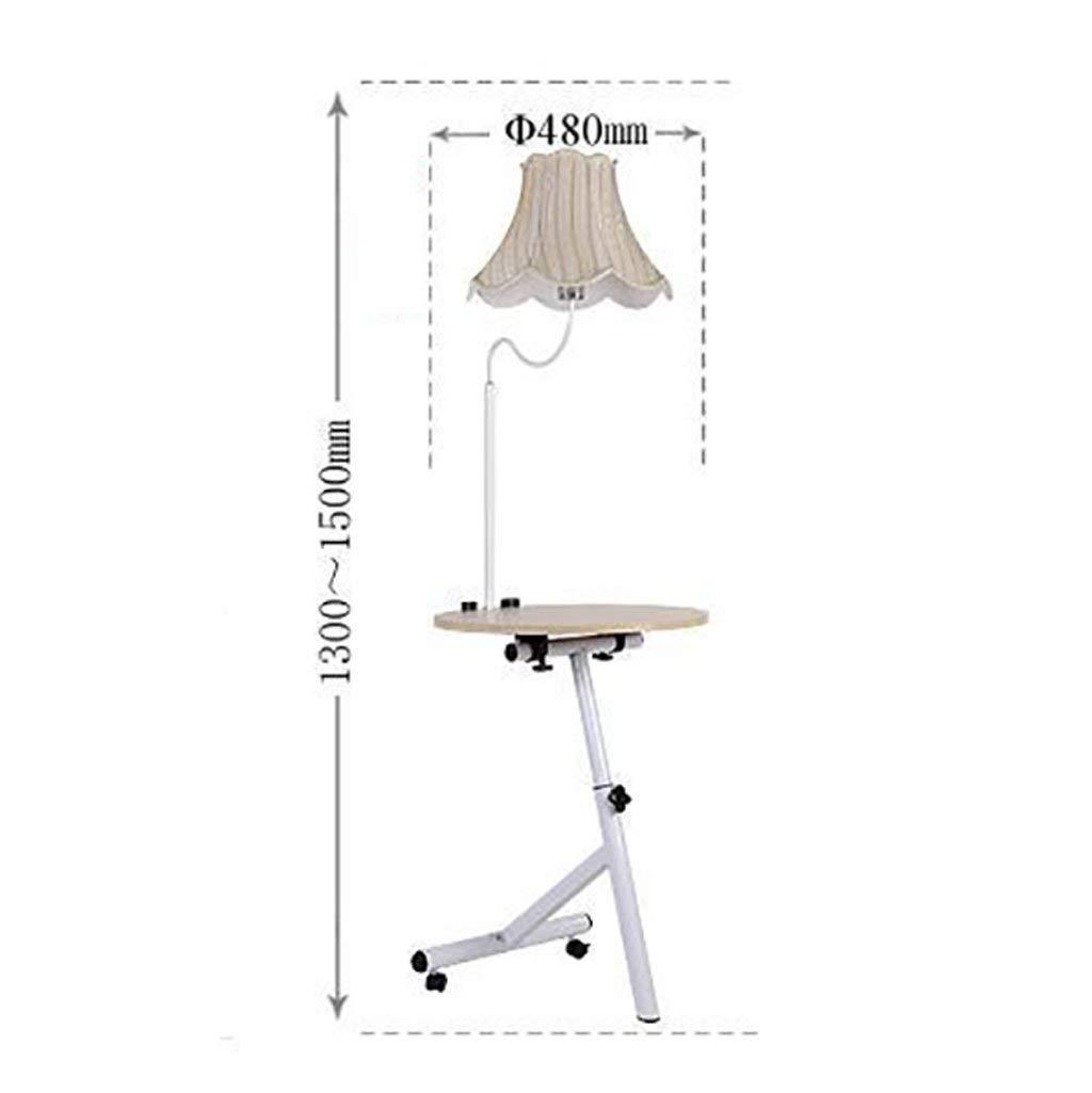 QYJZI Floor Lamps Floor lamp, living room shelf floor lamp, sofa shelf, coffee table small table lamp, nightstand vertical LED floor lamp size: 3650132cm