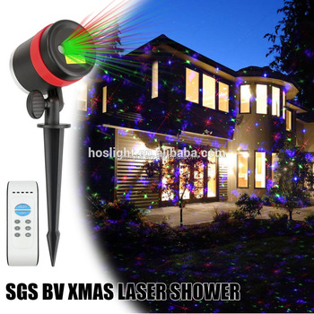 new star light holographic projector laser christmas outdoor firefly 2 club lazer lights - Christmas Outdoor Projector