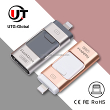 Multifunction Mobile Phone USB Flash Drive for Samsung Android phone, for iPhone iPad, 8GB 16GB 32GB 64GB 128GB