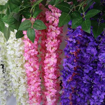 Bunga Buatan Pernikahan Dekorasi Violet Spider Tanaman Wisteria Dinding Bunga Buy Bunga Buatan Pernikahan Dinding Bunga Buatan Bunga Buatan Yiwu Product On Alibaba Com