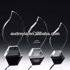 blank crystal glass award for engraving wholesale