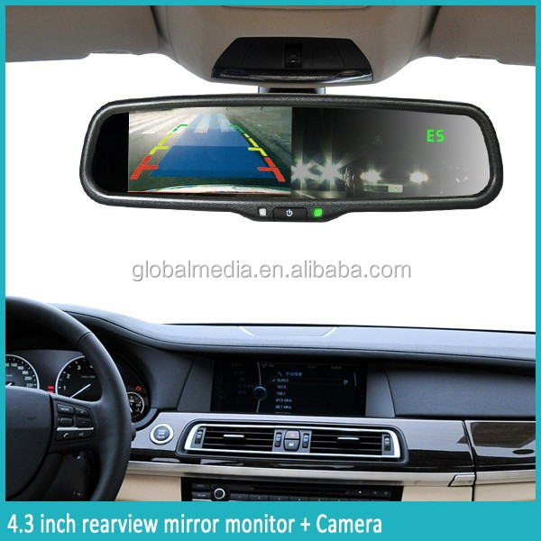 Rear View Camera Mirror Germid Auto Dimming Rearview Mirror ...