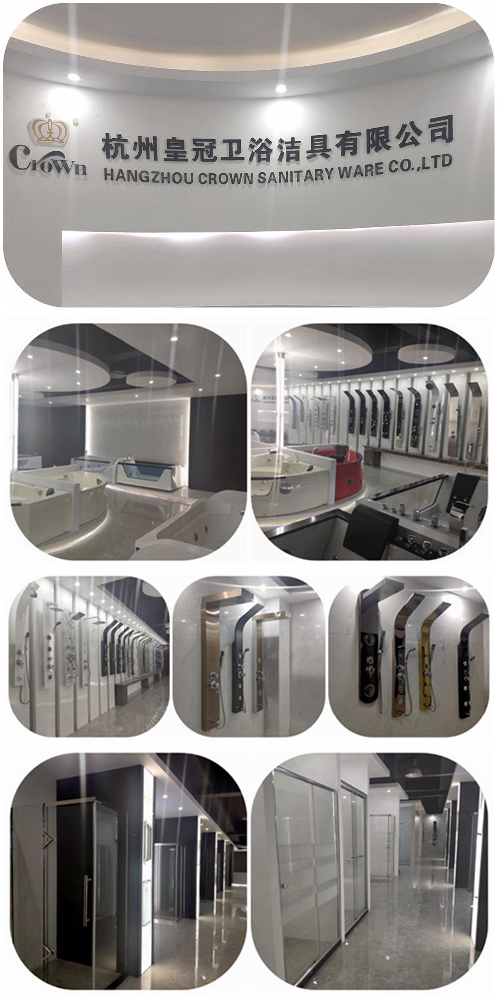 Cabina de ducha prefabricada de lujo, panel de acceso, cuarto de ducha de hidromasaje, caja doccia