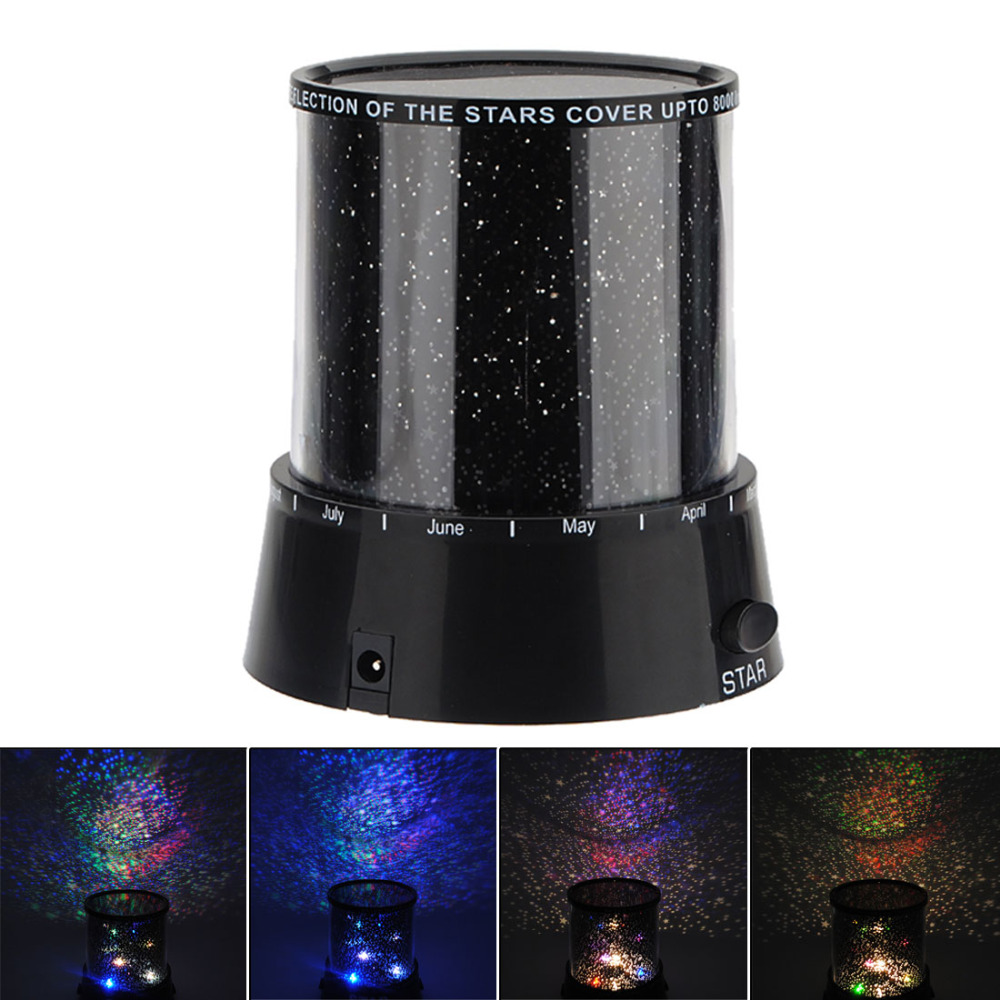 Zogift New Amazing LED Star Light Star Master,Night Romantic Gift Cosmos Star Sky Master Projector Starry Night Light Lamp